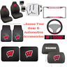 NCAA Wisconsin Badgers  Choose Your Gear Auto Accessories Official Licensed