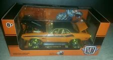 M2 1970 Dodge Challenger T/A Scat Pack Chase 1/24 1 of 500 Gold