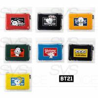 BTS BT21 Official Authentic Goods BITE Slim Pouch 198 x 133 mm By LINE FRIENDS