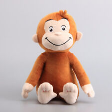 Curious George Monkey Soft Plush Stuffed Doll Toy Teddy Figure Animal Gift 30cm