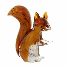 Crystal Glass Ornaments/Figurines/Squirrel Collectables
