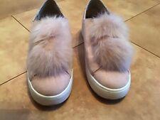 STEVE MADDEN Damen Schuhe Plateau Sneaker Slipper Gr. 40, rosé