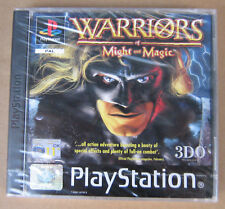 Videogame WARRIORS of MIGHT & MAGIC Playstation 1 PS1 PSX PSONE NEW & SEALED UK