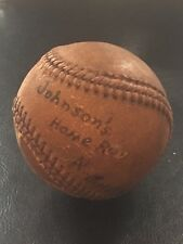 Bob Johnson 1940 Home Run Game Used Baseball Philadelphia Athletics A's Sep 18