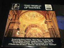 THE WORLD OF HANDEL° <>GREAT CLASSICS<>Lp Vinyl<>Can. Pressing<>LONDON SPA-4087