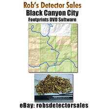 Black Canyon City Footprints - DVD - Gold Prospecting! Mining Claim Research