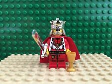 Lion King Red 10223 7188 Gold Sword Dark Castle Kingdoms Lego Minifigure Figure