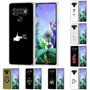 TPU Gel Phone Case Cover for LG Stylo 6 / 5 / 4,Text Funny Print,Design in USA