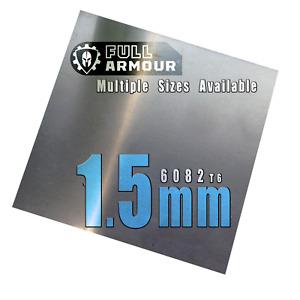 1.5mm Aluminium sheet plate - 6082 T6