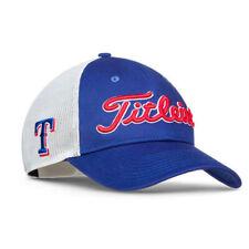 Titleist Texas Rangers Mlb Collection Tour Mesh Snapback Golf Hat