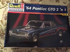 REVELL 85-2461 1964 PONTIAC GTO 2n1 1/24 Model Car 1998