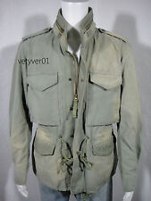 New RALPH LAUREN D&S M65 Military Vintage Rugged Summer Field Jacket size XXL