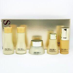 SU:M37 Secret Special Gift Set 5 Items Kit Toner Essence Emulsion Cream K-Beauty