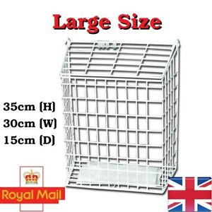 Letterbox Cage Letter Guard Basket Door Mail Cather Post Guard Protector LARGE 1
