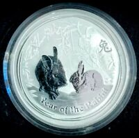 2011 Perth Mint 🇦🇺 Year of the Rabbit 🐇 1oz 999 Fine Pure Silver
