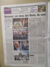 JOURNAL belge DU SOUVENIR DE : MAURANE - 18/05/2018 - son enterrement -
