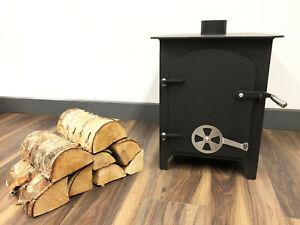 12 Kw Fireplace Log Stove Wood Burner Fireplace Heater Multifuel Static Caravan