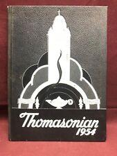 Thomasonian 1954 St. Thomas High School yearbook, Detroit Michigan
