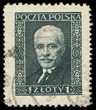 Scott # 255 - 1928 - ' President Moscicki ', Laid paper