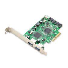 Syba Carte D'interface Pci-express 2.0 Contrôleur USB 3.0 SATAIII