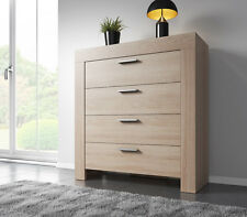 Chest of Drawers Rome 100 cm Light Oak Sonoma