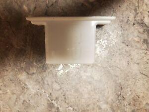 4 PK RUBBERMAID CLOSETMAID White Wire Shelf Shelving Wall Brackets