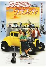 American Graffiti POSTER Ron Howard Harrison Ford Hot Rod Muscle Car JAPANESE