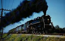 CNR 4-6-2 No. 5299 Locomotive Port Credit Ontario Canada Railroad Train Postcard