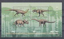 A03) Germany 2008 Dinosaur, Diplodocus, Triceratops,Tyrannosaurus, Plateosaurus