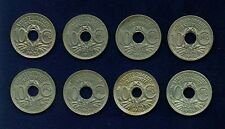 FRANCE 10 CENTIMES COINS:1917,1918(2),1923,1924,1930,..