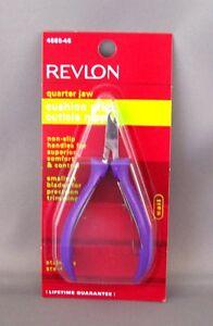 Revlon Cuticle Nipper - Quarter, Half, Full Jaw and Heavy Duty Toenail Nippers