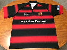 MENS USED AUTHENTIC CANTERBURY RUGBY UNION NEW ZEALAND JERSEY SIZE 2XL