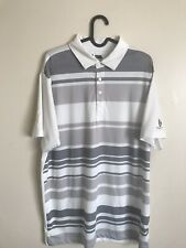Men's Matte Grey Golf Polo Scioto Country Club Large $90