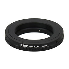 JJC LMA-TM_NK Metal Adapter Ring for T Mount lens use with NIKON Camera Body