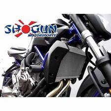 Yamaha 2015-2017 FZ-07 FZ07 Shogun Racing Frame Sliders - No Cut Version - Black