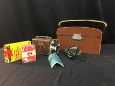 Bell and Howell Auto Master Filmo 16mm Vintage Movie Camera (lh752)