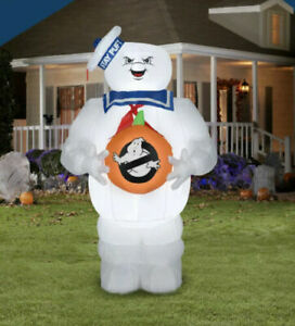 5 FT Ghostbusters Stay Puft Marshmallow Man Halloween Airblown Inflatable