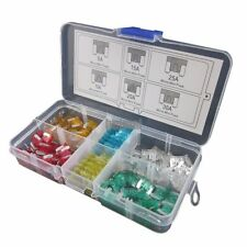 60pcs Assorted Auto Car Micro Mini Blade Fuse  Low profile5A 10A 15A 20A 25A 30A