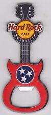 HARD ROCK CAFE NASHVILLE GUITAR BOTTLE OPENER MAGNET TENNESSEE FLAG STARS USA