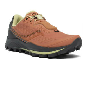 Saucony Womens Peregrine 11 ST Trail Running Shoes Trainers Sneakers Orange