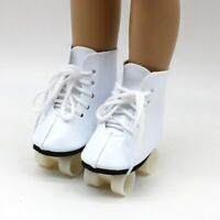 Puppen Zubehör Schuhe Rollschuhe Sportschuhe 7 cm lang,  Nr. 266