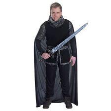 Mens Adult Sheriff of Nottingham Robin Hood Medieval Knight Fancy Dress Costume