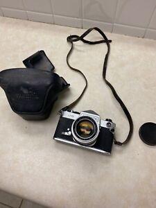 Yashica J-5 SLR Film Camera with case