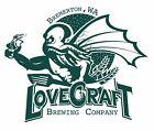 Lovecraft Brewing Company Sticker Craft Beer Brewery Bremerton Washington WA