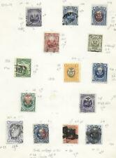 Peru stamps Collection of 14 CLASSIC stamps HIGH VALUE!