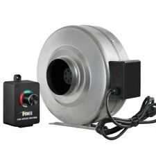 "iPower 4"" Inline Duct Ventilation Fan & Variable Speed Controller"