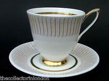 Vintage 1960's Royal Albert Capri patrón Café Tazas Y Platillos todo mirar en VGC
