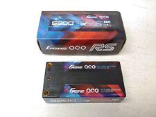 Gens ace 5500mAh 7.6V 100C 2S2P HardCase HV Shorty Lipo Battery Pack