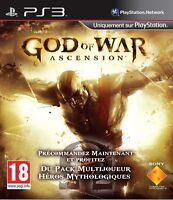 GOD OF WAR ASCENSION JEU PS3 NEUF
