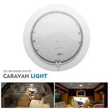 CARAVAN LED ROOF LIGHTS CAMPER TRAILER RV BOAT CABIN 220MM DIAMETER 12 VOLT NEW